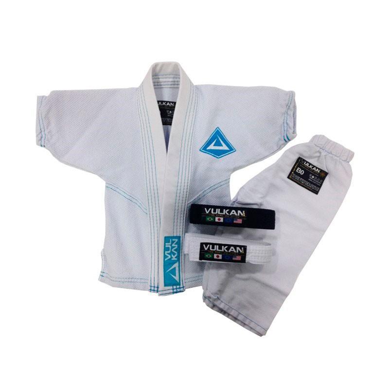 Kimono Jiu Jitsu Vulkan Baby Class Branco Recem Nascido