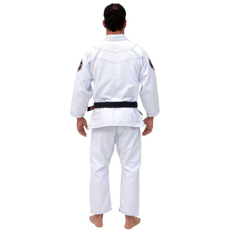 Kimono Jiu Jitsu Vulkan Dominance Branco Adulto Unissex