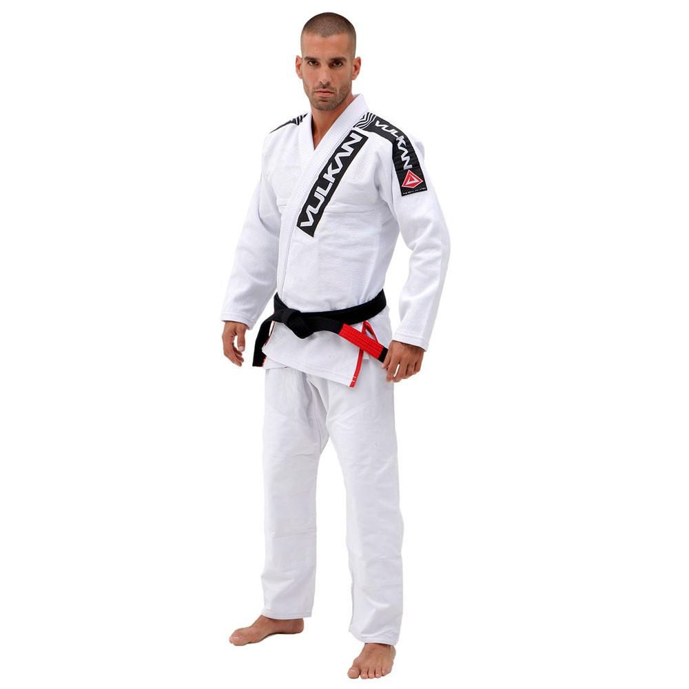 Kimono Jiu Jitsu Vulkan Phanton Pro Branco Adulto Unissex