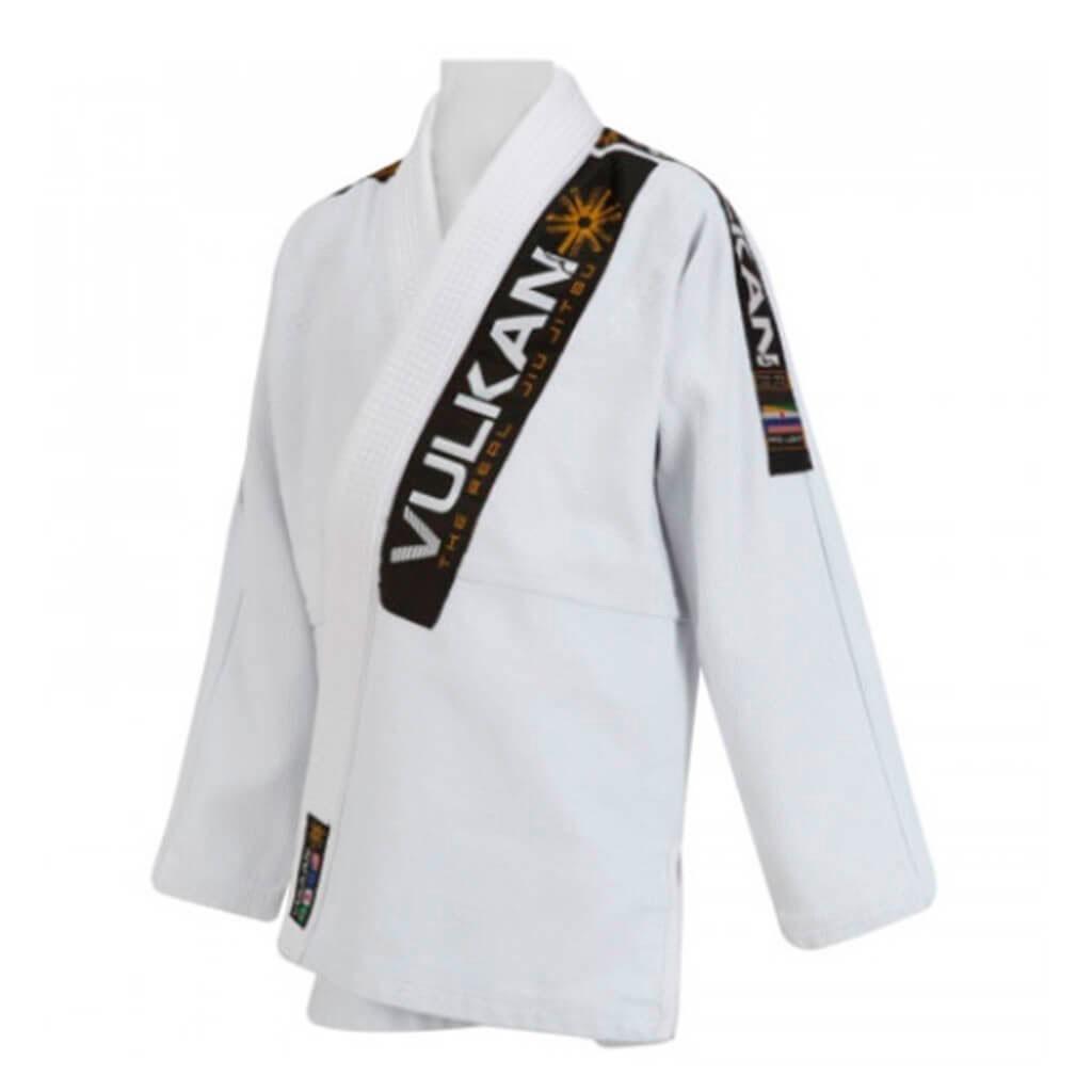 Kimono Jiu Jitsu Vulkan Pro Light Branco Unissex Somente Blusão