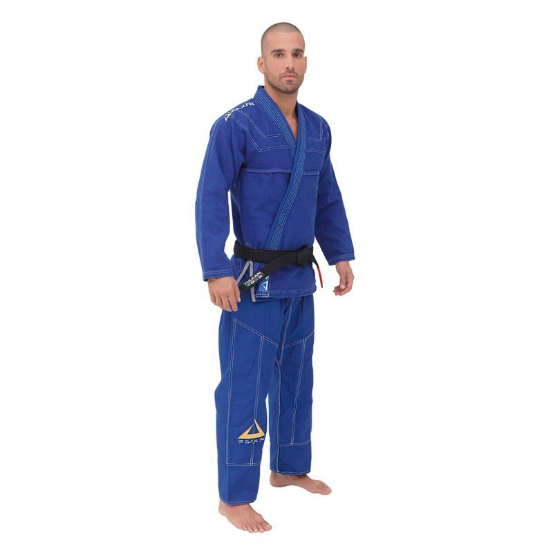Kimono Jiu Jitsu Vulkan Sky Pro Azul Royal Adulto Unissex