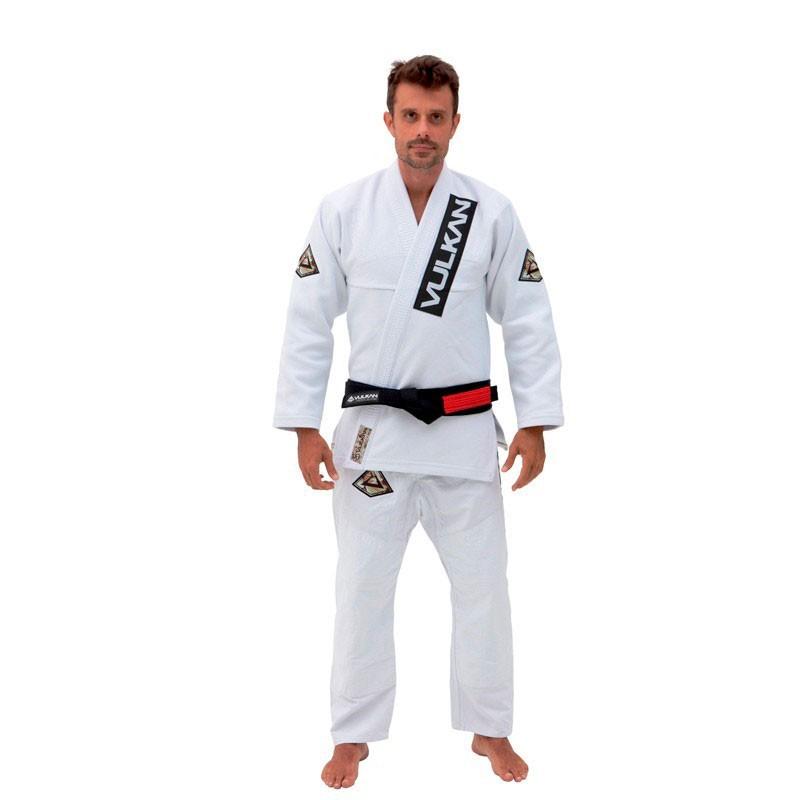 Kimono Jiu Jitsu Vulkan Supreme Branco Adulto Unissex