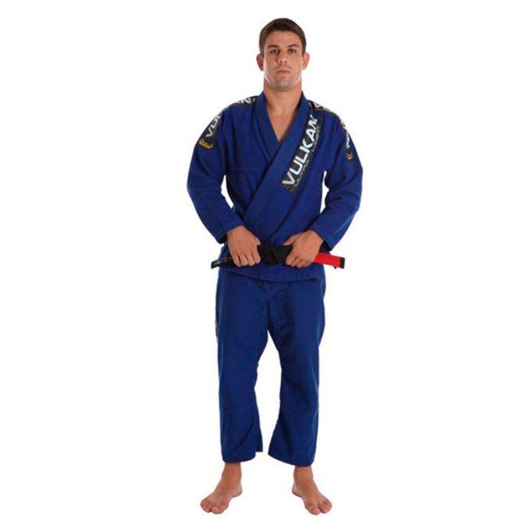 Kimono Jiu Jitsu Vulkan Ultra Light Azul Adulto Unissex
