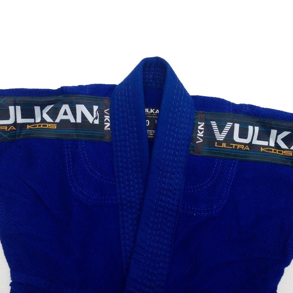 Kimono Jiu Jitsu Vulkan Ultra Light Azul Infantil