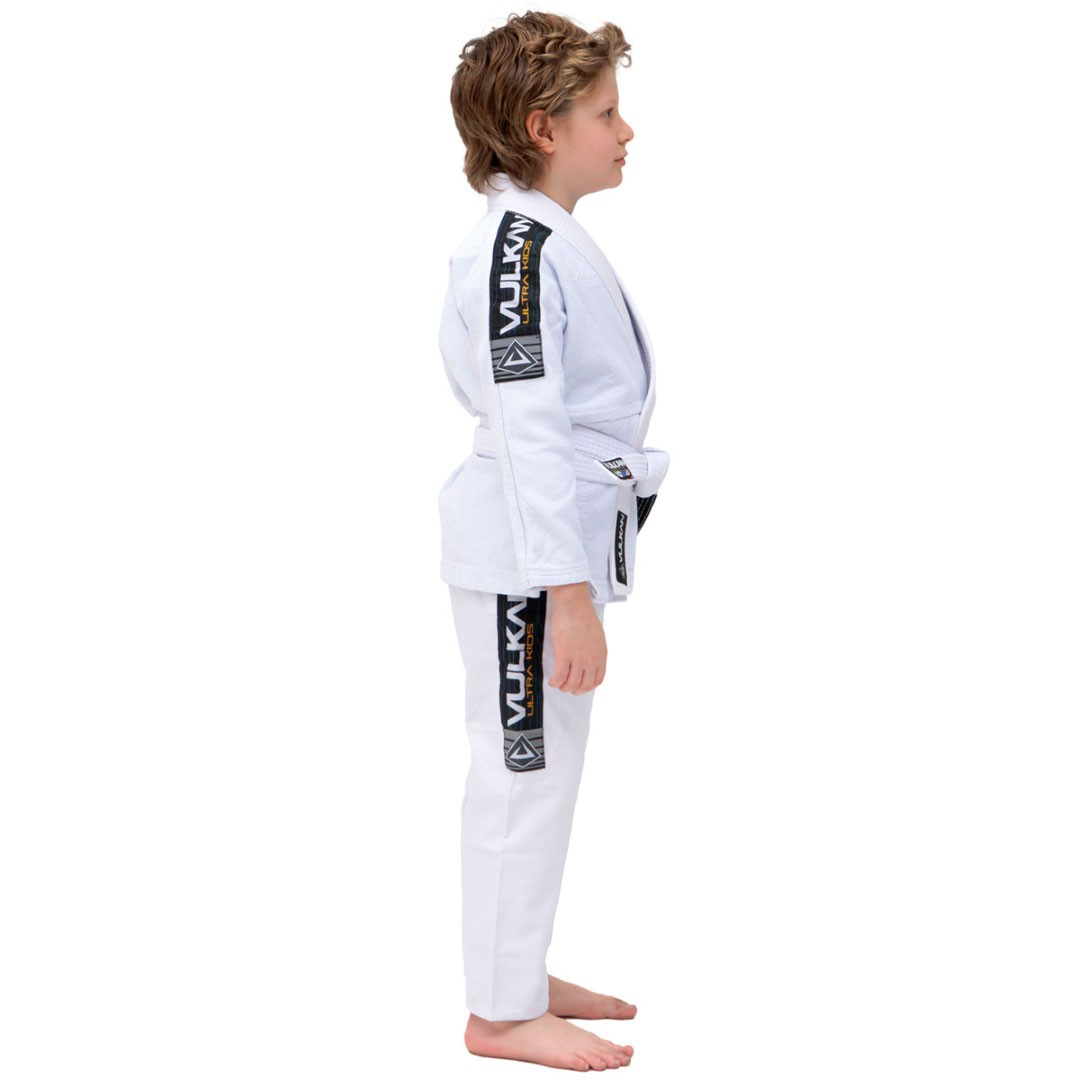 Kimono Jiu Jitsu Vulkan Ultra Light Branco Infantil