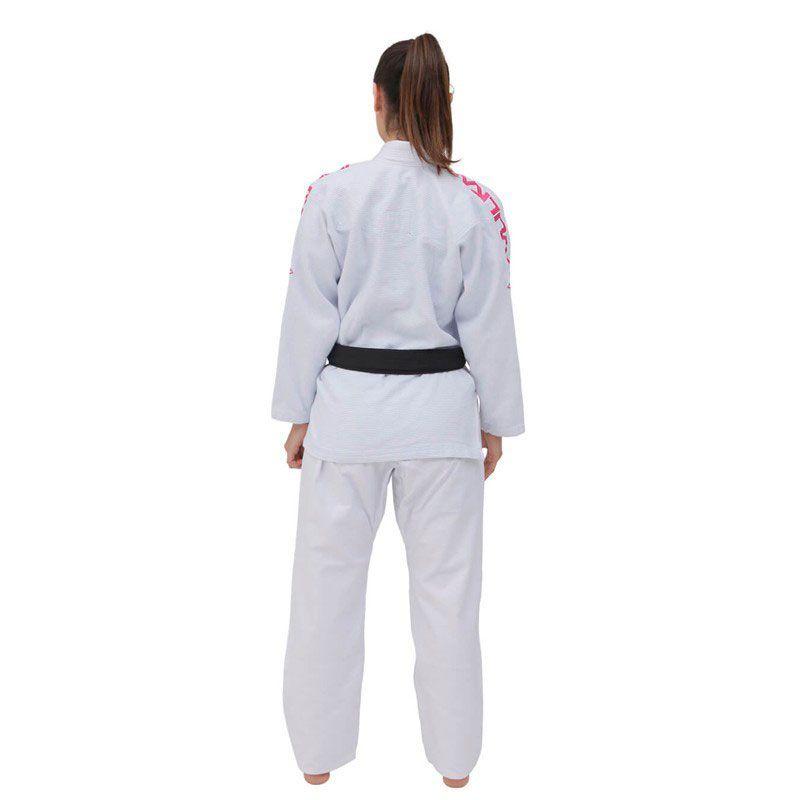 Kimono Jiu Jitsu Vulkan Viper Pro Branco Feminino
