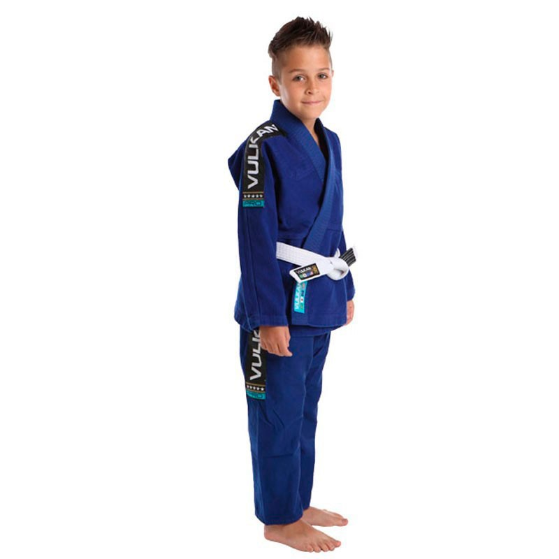 Kimono Jiu Jitsu Vulkan Vkn Pro Azul Royal Infantil