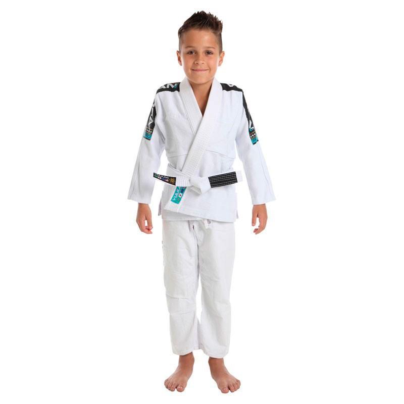 Kimono Jiu Jitsu Vulkan Vkn Pro Branco Infantil
