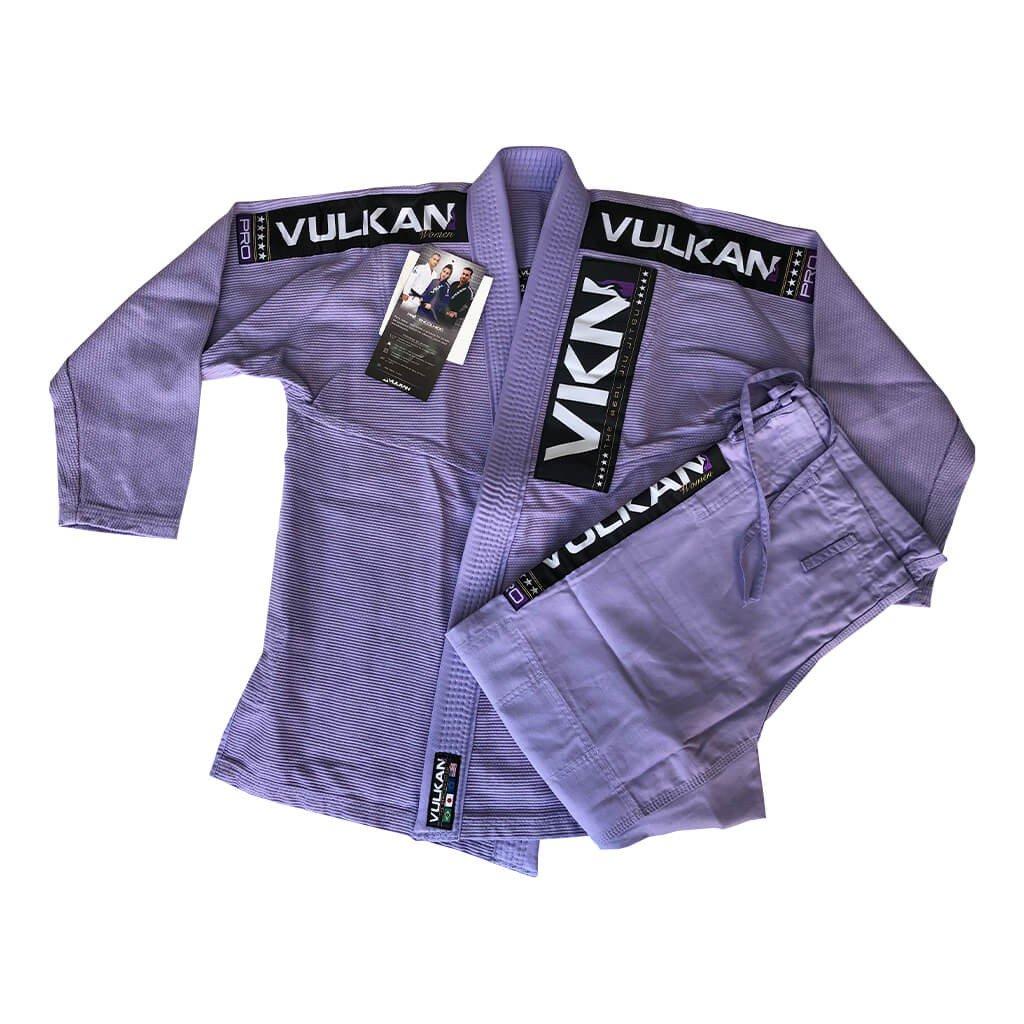 Kimono Jiu Jitsu Vulkan Vkn Pro Lilás Feminino