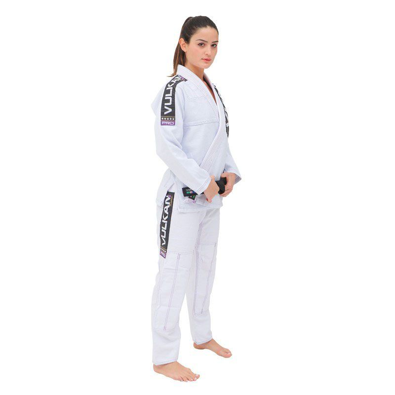 Kimono Jiu Jitsu Vulkan Vkn Pro Sw Branco Feminino