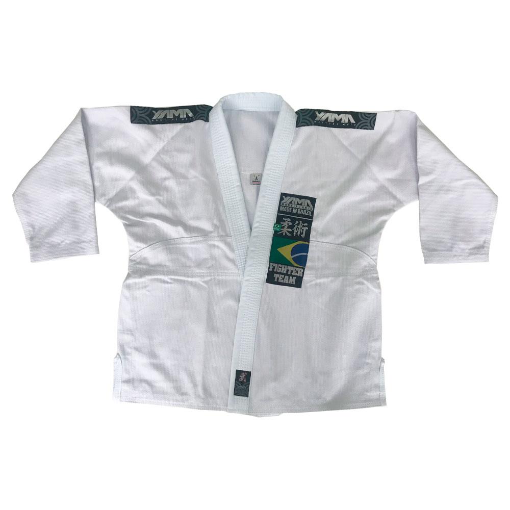 Kimono Jiu Jitsu Yama Plus Branco Infantil