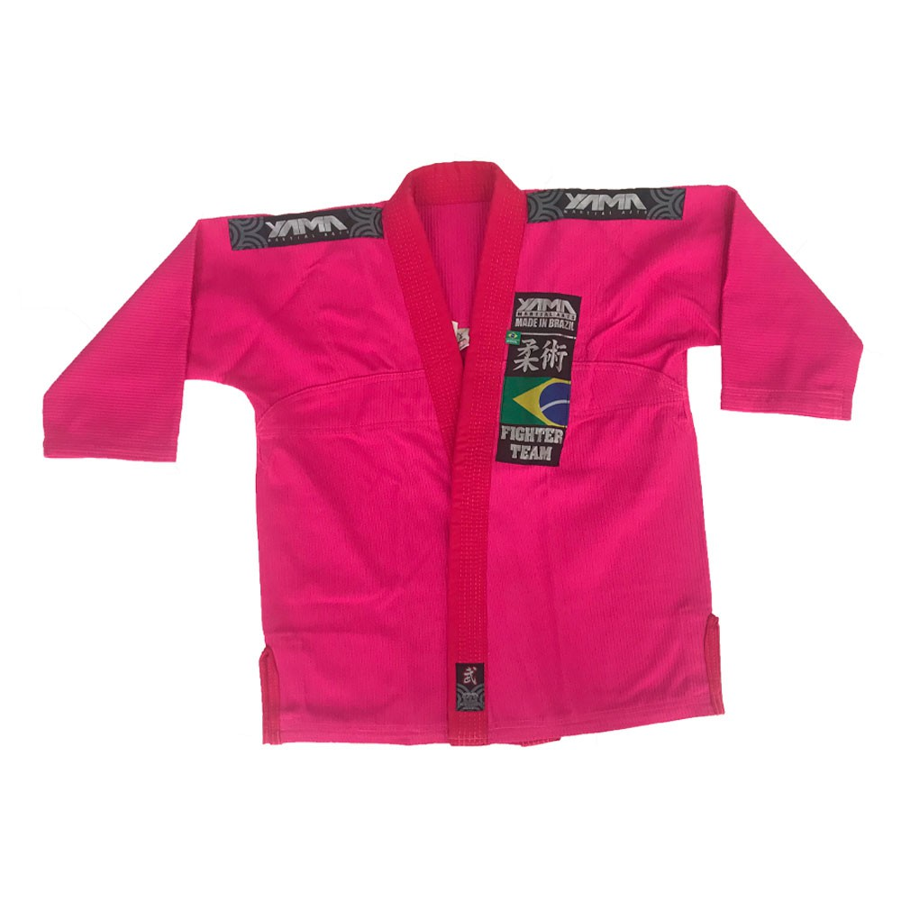 Kimono Jiu Jitsu Yama Plus Pink Infantil