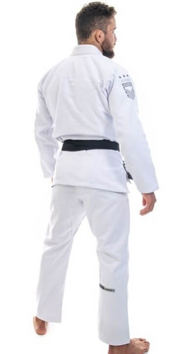 Kimono KVRA Army Branco Unissex