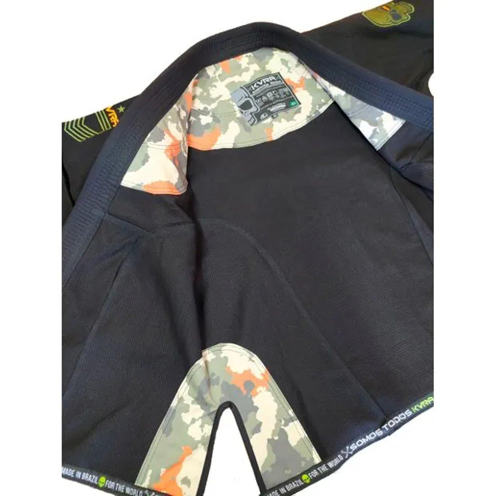 Kimono KVRA Army Preto Unissex