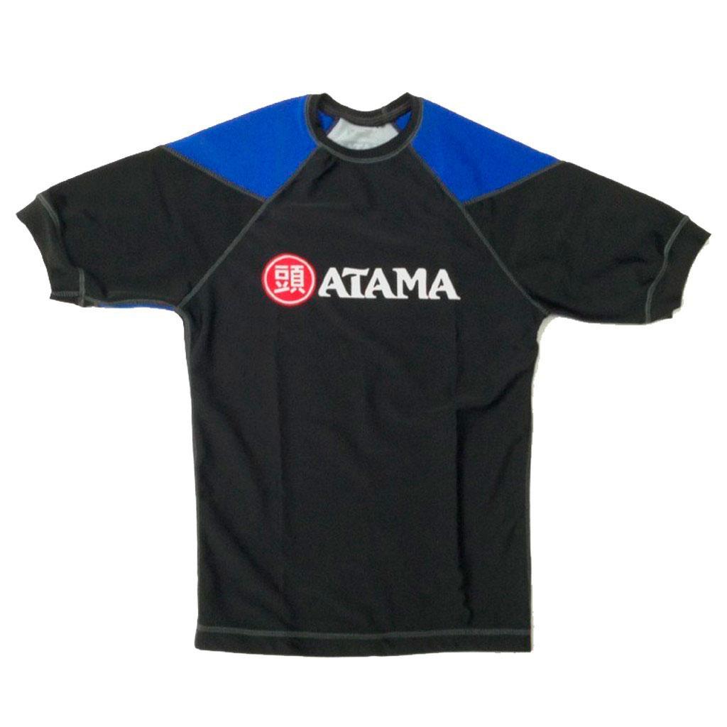 Rash Guard Atama Azul Manga Curta Unissex