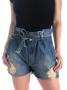 Short Clochard Jeans Paris