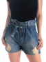 Short Clochard Jeans Paris