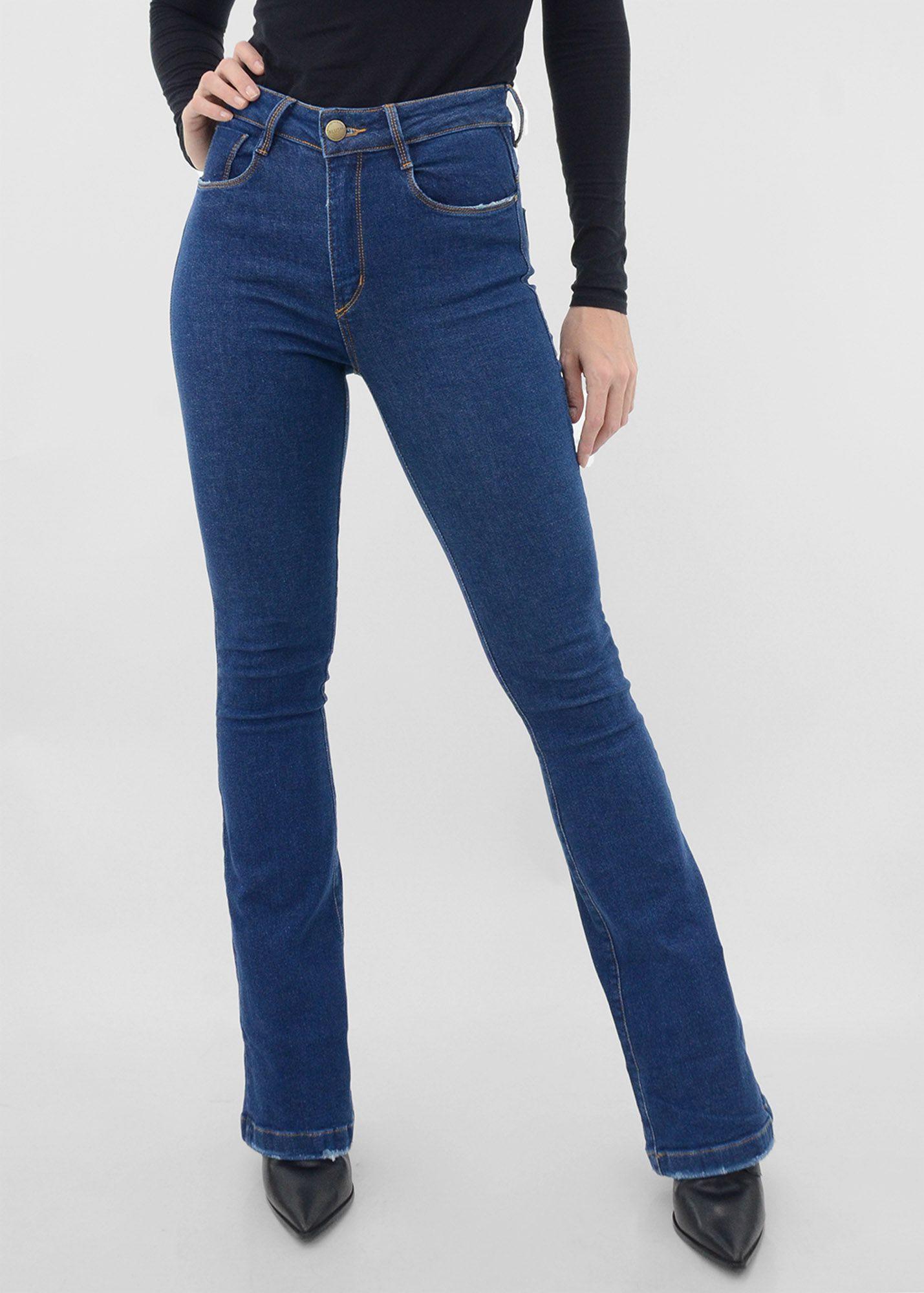 Calça Flare Jeans Los Angeles