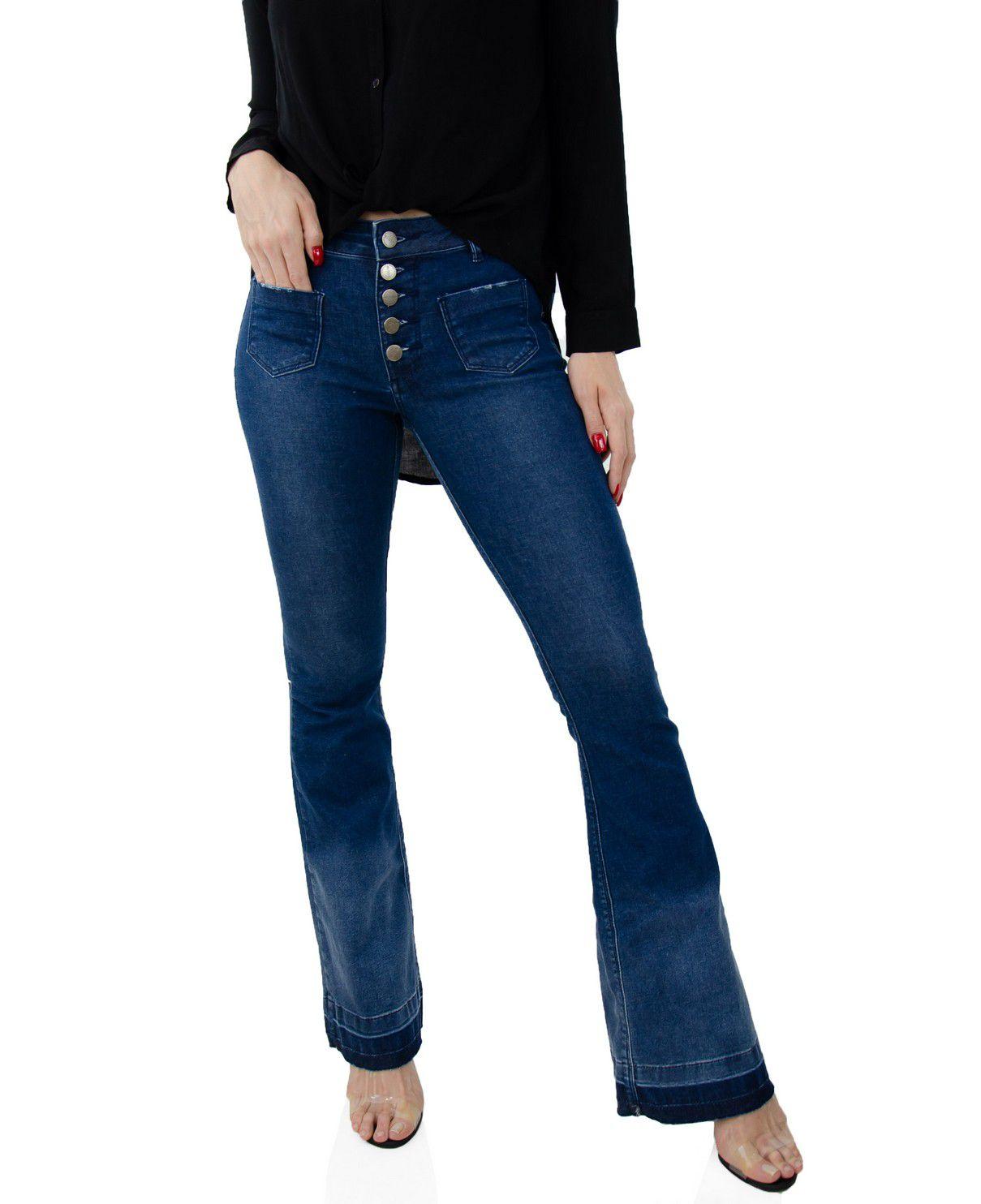 Calça Flare Jeans Madrid