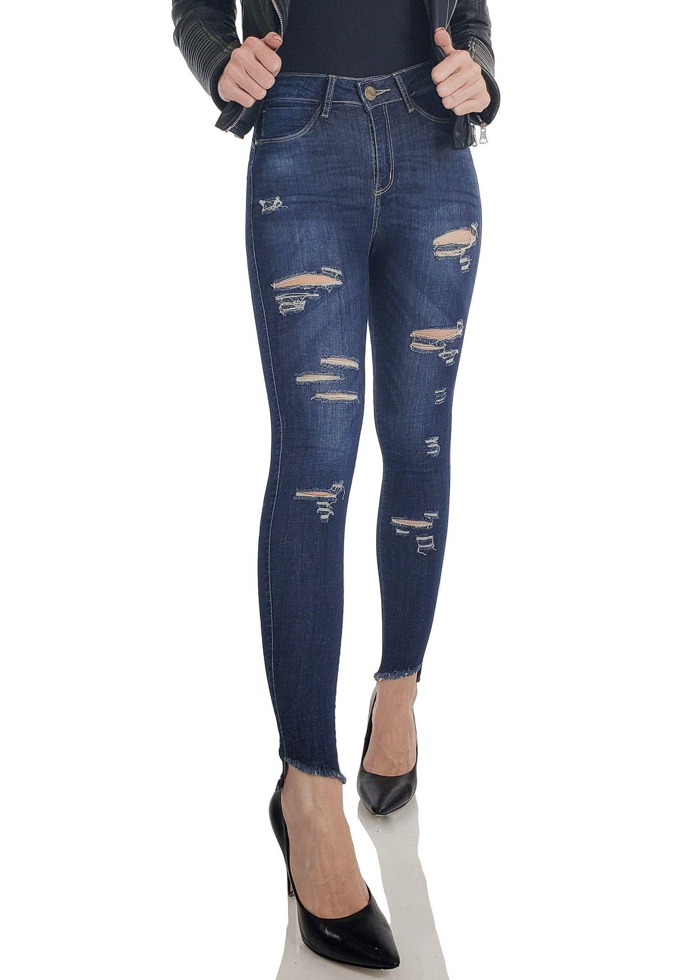 Calça Jeans Skinny Chicago