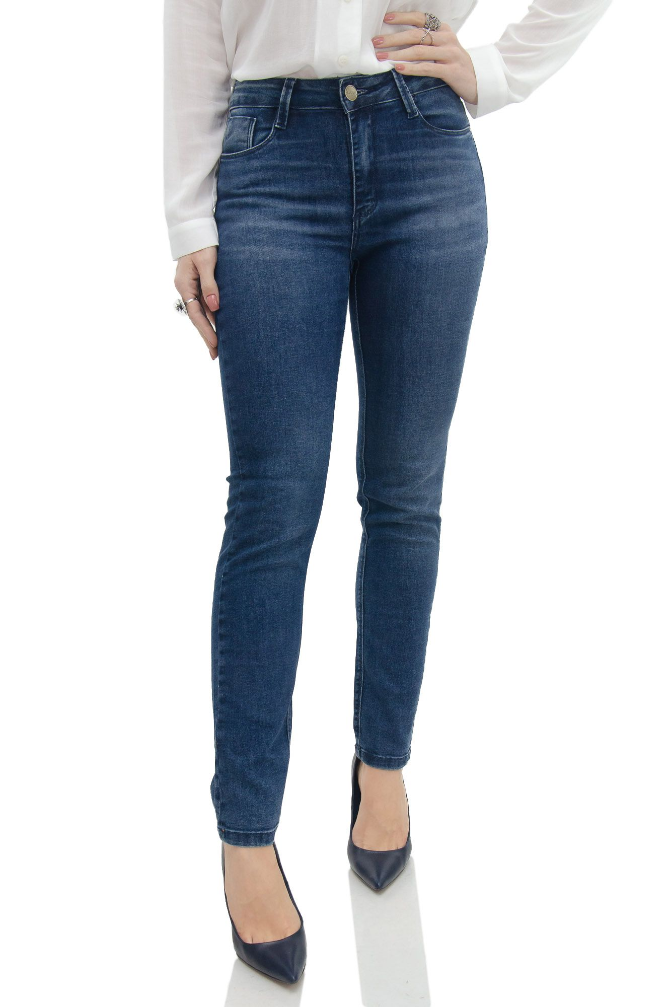 Calça Reta Jeans Perfect Shape