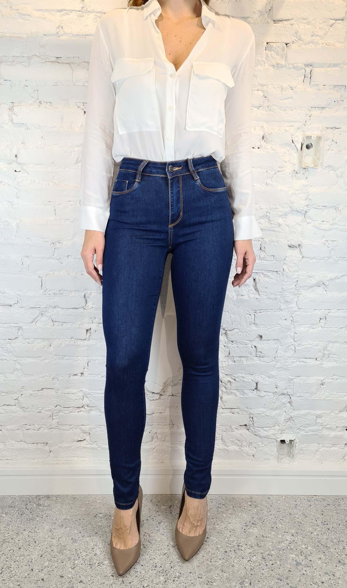 Calça Skinny Jeans Clássica