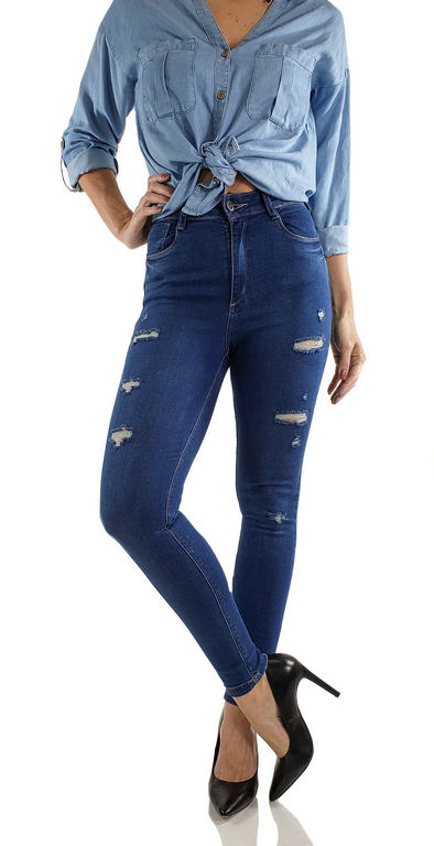 Calça Skinny Jeans Nápoles Es