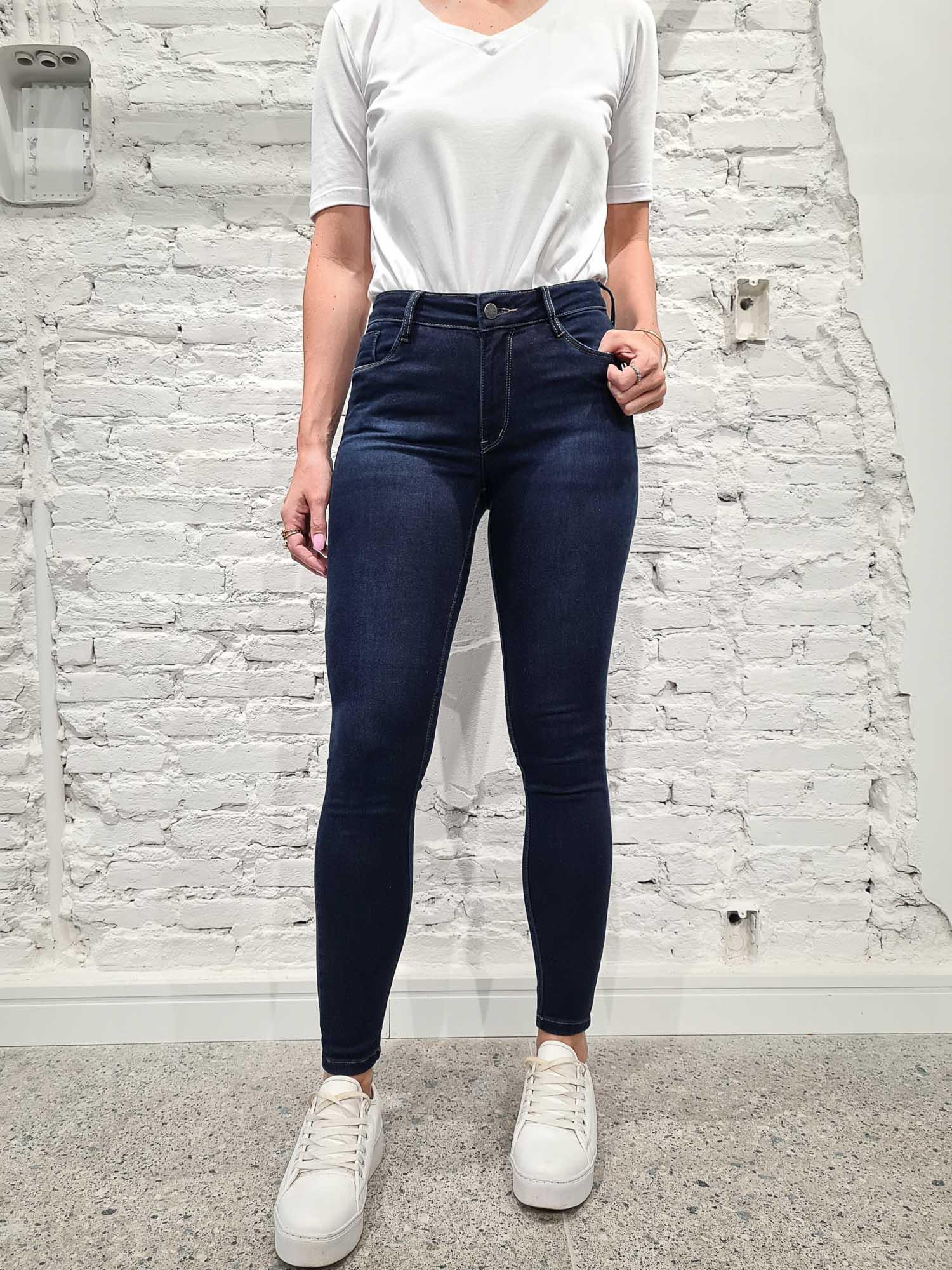 Skinny Jeans Ultrasoft Indigo Blue