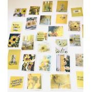 Adesivo fotografia em amarelo 60 un