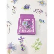 Adesivo Purple Flores