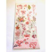 Adesivo Sakura Flores 6 un.