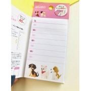 Bloquinho de anotações