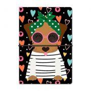 Caderno Duplo Happy caramelo