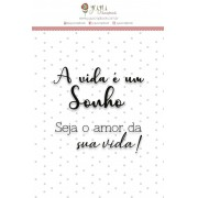 CARIMBO M SONHO - COLEÇÃO SHABBY DREAMS