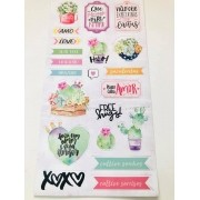 Die Cuts Cartela Cacto