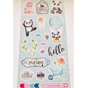 Die Cuts Cartela Panda