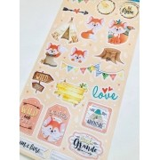 Die Cuts Cartela Raposa