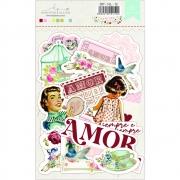 DieCuts - Coleção Homemade Love - Dany Peres Design