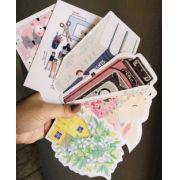 Kit de 6 cards Sortidos