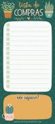 Lista de compras jardim Magnético