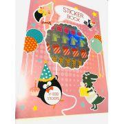 Sticker Book Floresta A4 1000 un