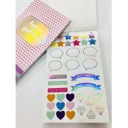 Sticker Book Lilás
