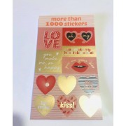 Sticker Book Love 1000 un