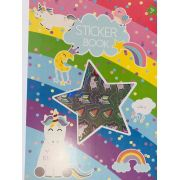 Sticker Book Unicórnio A4 1000 un