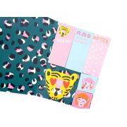 Sticky Notes Oncinha Pink- Hema