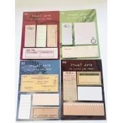 Sticky Notes Vintage Diversos