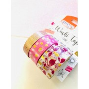 Washi tape Flamingo Foil 3 un