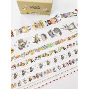 Washi Tape Floresta 8 un,