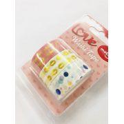 Washi Tape Foil Beijo 3 un
