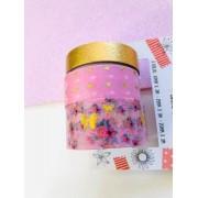 Washi tape Rosa Foil 3 un